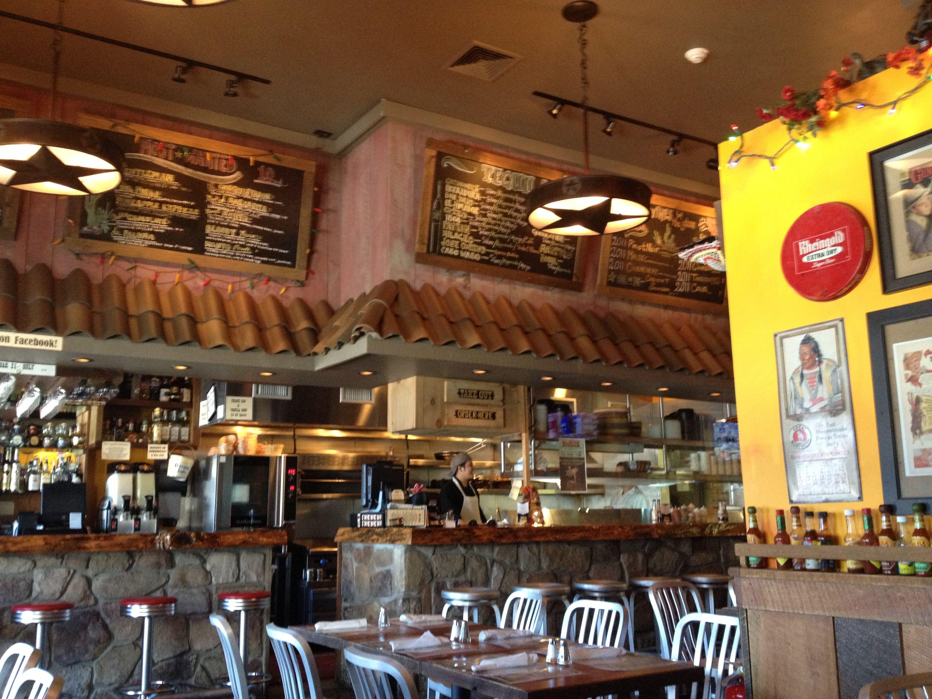Del Fuego Restaurant prior to its Saturday lunch rush